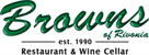 browns of rivonia restaurant and wine cellar